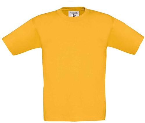 B&C Exact 190 kids T-shirt-12/14-Goud