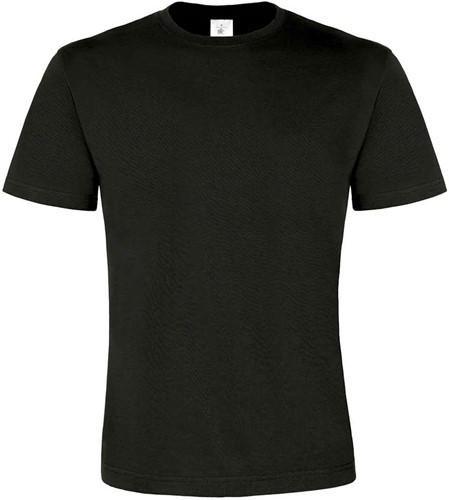 B&C Exact 190 Top Heren T-shirt-Zwart-XXL