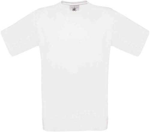 B&C Exact 190 T-shirt-Wit-XXL
