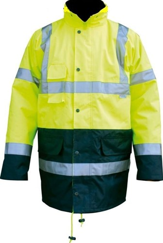 Planet Europe First Choice High Visibility Jas- geel-XXL