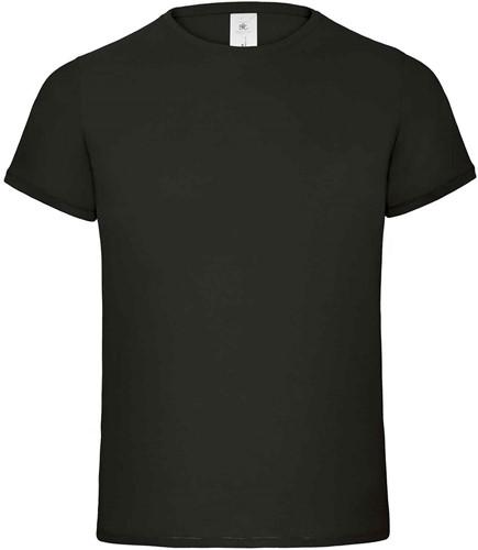 B&C Flamingo Heren T-shirt-Zwart-XXL