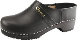 Gevavi - 900 Schoenklomp gesloten hiel -  zwart