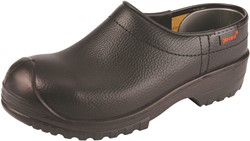 Gevavi 1250/00 flex schoenklomp PU SB gesloten hiel - zwart