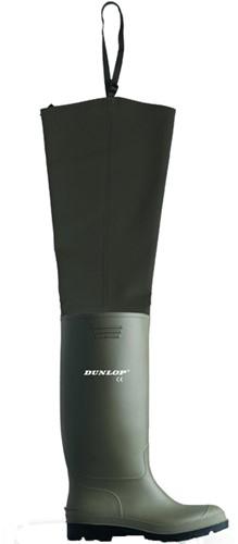 Dunlop 386VP Lieslaars hoog PVC - groen