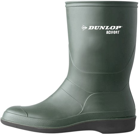 Dunlop B550631 Desinfectie-laars - groen