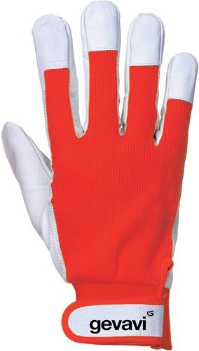 Gevavi GP02 Industry Handschoen - rood
