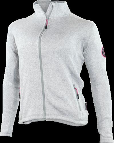 Gevavi GT02 Dames Sweaterfleece Jack - grijs