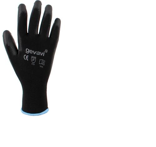 Gevavi GP01 Allround Handschoenen - zwart (2 Paar)-9/L