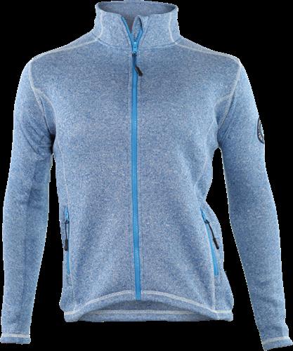 Gevavi GT02 Dames Sweaterfleece Jack - blauw-XXL