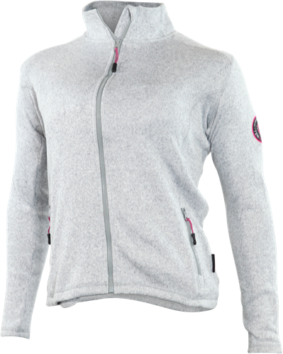 Gevavi GT02 Dames Sweaterfleece Jack - grijs-S