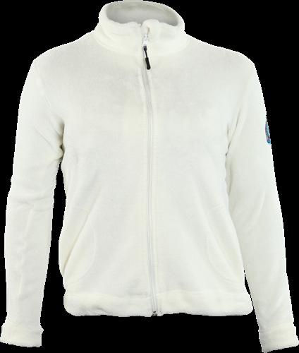 Gevavi GT03 Dames Teddy Coral Fleece Jacket - wit-S