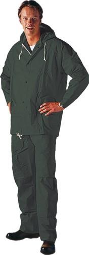 Gevavi GW74 Regenpak PVC - groen-M