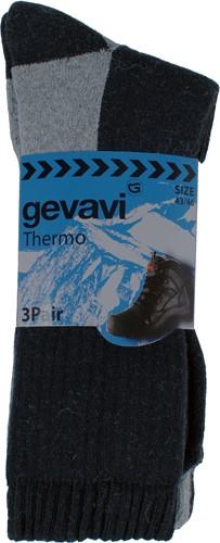 Gevavi GW83 Thermo Sok - grijs (3 Paar)-39-42