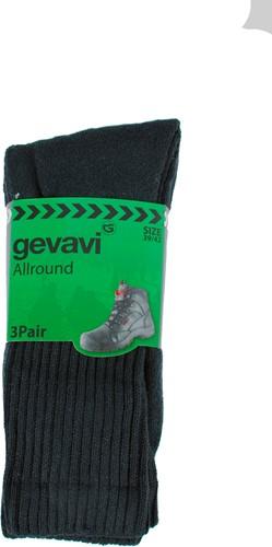 Gevavi GW84 Basic Sport Sok - zwart (3 Paar)-39-42