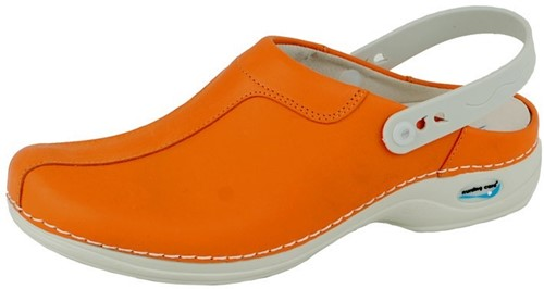 Wash&Go Clog Open - oranje