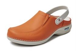 Wash&Go Clog open met elastiek - oranje