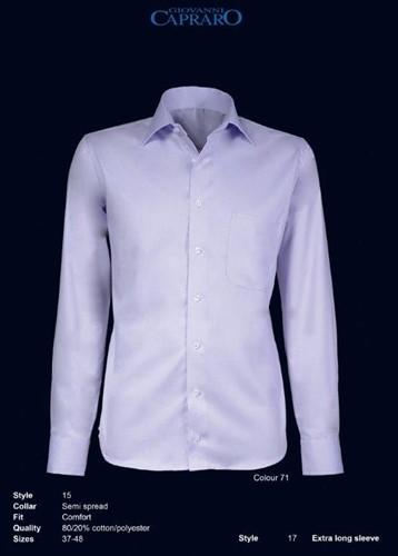 Giovanni Capraro 15-71 Overhemd - Licht Paars