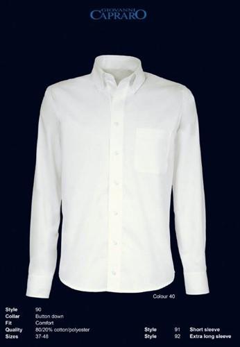 Giovanni Capraro 90-40 Overhemd - offwhite