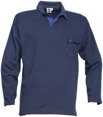 Havep Construction Line Polo sweater