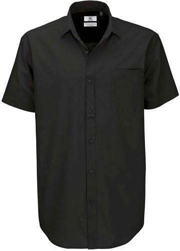B&C BCSMP42 Heritage Short Sleeve Heren Overhemd