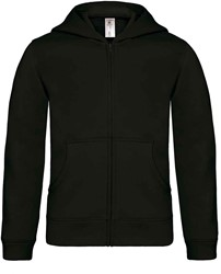 B&C Hooded Full Zip kids Sweater