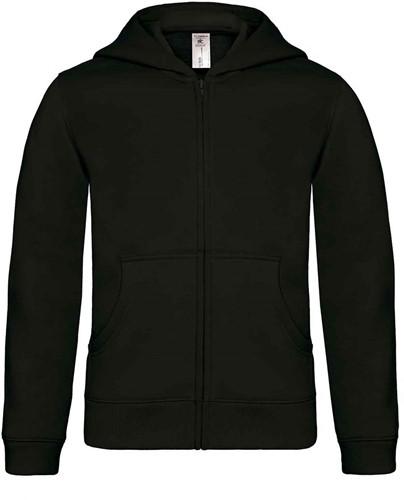 B&C Hooded Full Zip kids Sweater