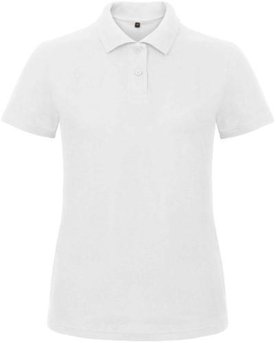 B&C ID.001 Poloshirt Dames-Wit-XS