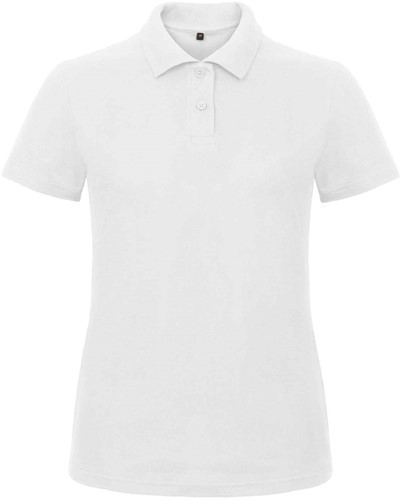 B&C ID.001 Poloshirt Dames-Wit-XXL