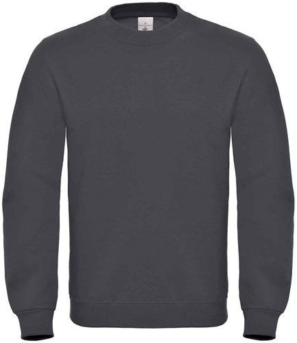 B&C ID.002 Sweater-XS-Anthracite