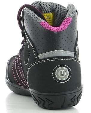 Safety Jogger Isis S3 Metaalvrij - Zwart/Roze-3