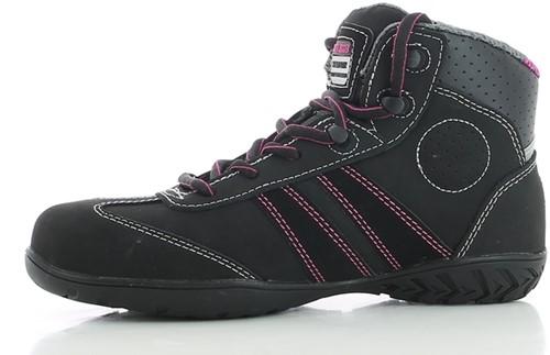Safety Jogger Isis S3 Metaalvrij - Zwart/Roze-2