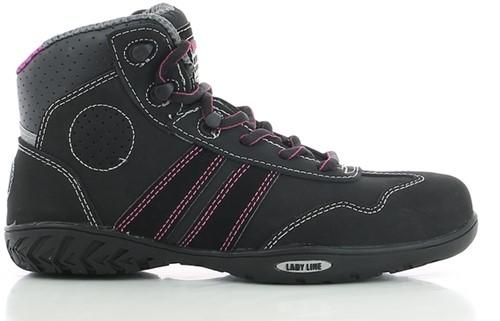 Safety Jogger Isis S3 Metaalvrij - Zwart/Roze