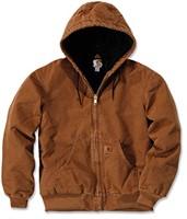 Carhartt Quilt Flannel Lined Sandsteen Active jack-1