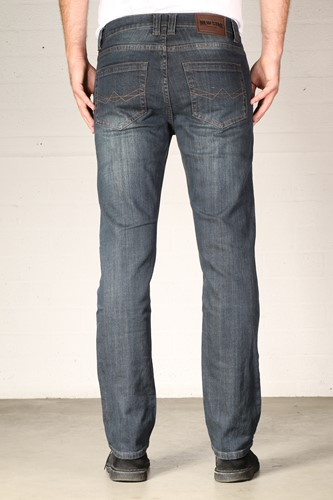 New Star Jacksonville Stretch Denim - dark used- Lengte 30 - Breedte 29-3