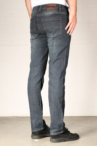 New Star Jacksonville Stretch Denim - dark used- Lengte 30 - Breedte 29-2