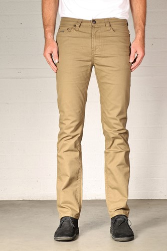 New Star Jacksonville Regular Stretch Twill - camel- Lengte 30 - Breedte 28