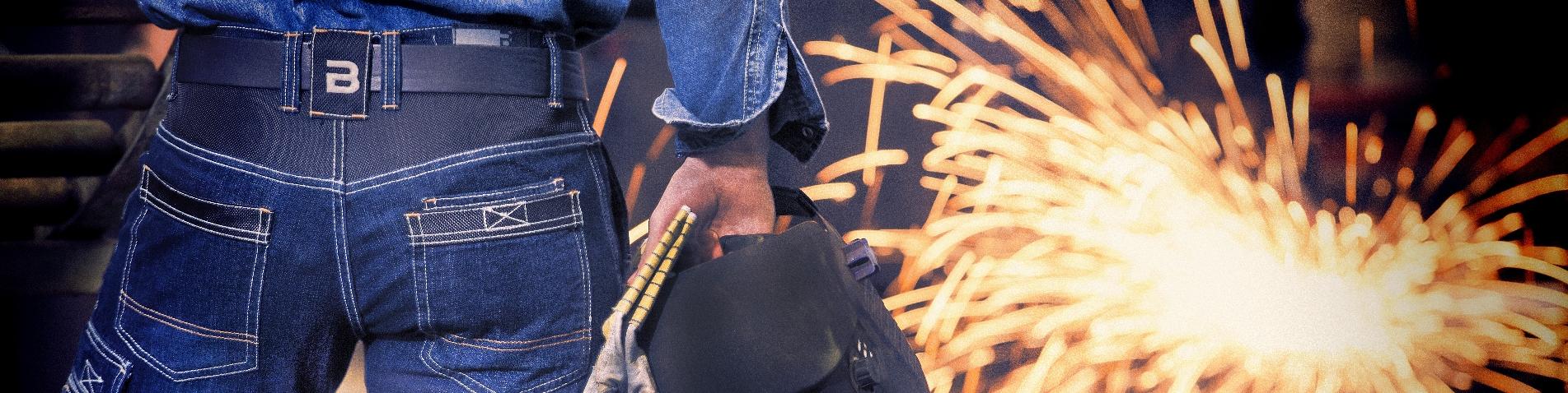 Jeans Werkbroeken banner breed