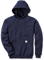 Carhartt Midweight Hooded Sweater-Navy-S