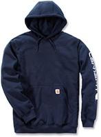 Carhartt Midweight Signature Sleeve Logo Hooded Sweater-1