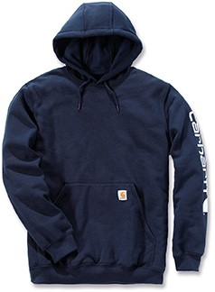 Carhartt Midweight Signature Sleeve Logo Hooded Sweater