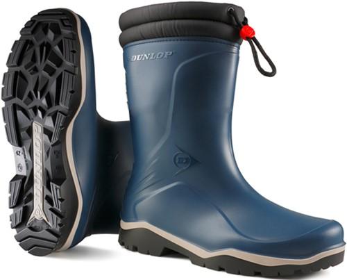 Dunlop K354061 Blizzard Gevoerde Kinderlaars PVC - blauw-24