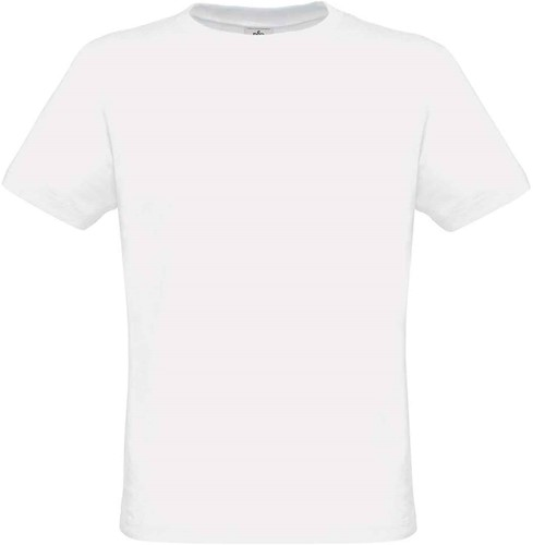 B&C Heren-only T-shirt-Wit-S