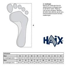 Haix Maattabel-209