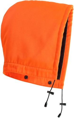 Mascot Macallen met krukknopen Muts-ONE-Hi-Vis oranje