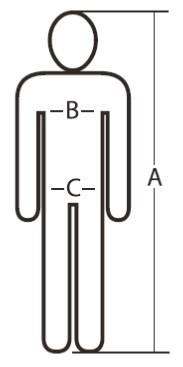 Mammoet Werkkleding Maattabel-25