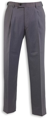 ICONA NM4 Single Pleat Heren Pantalon - Antraciet - 42EU (28UK) - S = - 5 cm