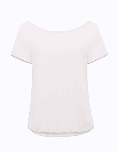 B&C Orchid Dames T-shirt-Wit-M/L