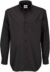 B&C Oxford LSL Heren Overhemd