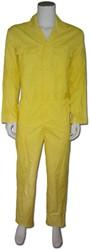 WW4A Kinderoverall Polyester/Katoen - geel