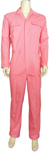 WW4A Overall Polyester/Katoen - Roze